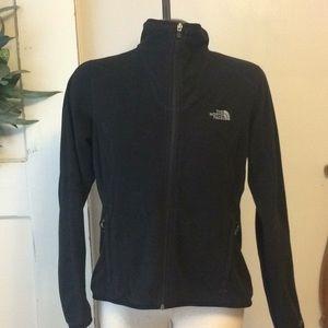 Black full zip North Face fleece